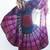 Fuchsia Boho Print Chiffon Beach Square/Round Tapestry