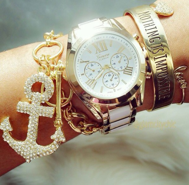 jewels watch jewerly