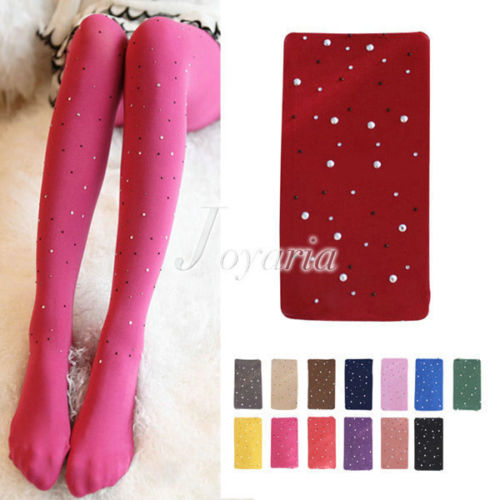 Woman Sexy Opaque Bling Crystal Rhinestone Pantyhose Tights Stockings Wholesale | eBay