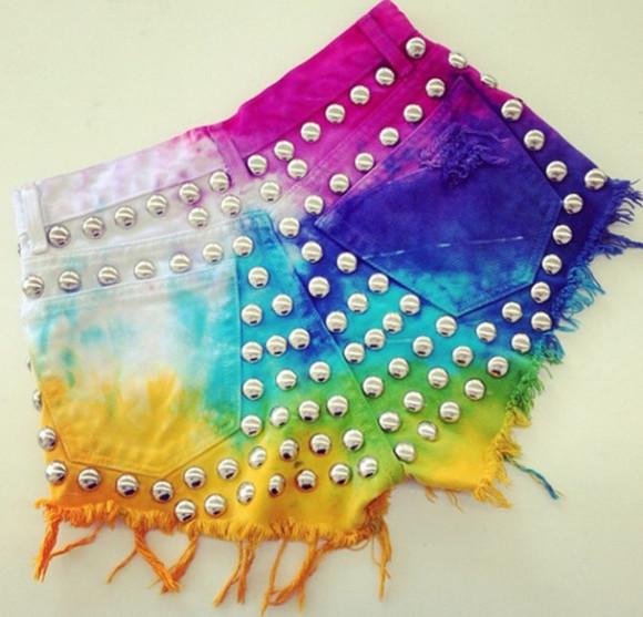 colours rainbow style
