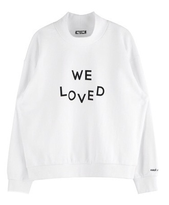 sweater white white sweater long sleeves love quotes tumblr outfit sweatshirt style