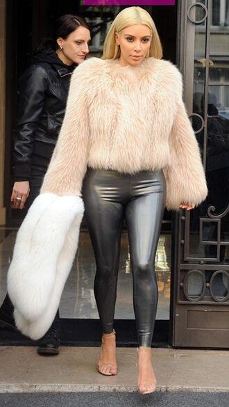 shoes nude heels kim kardashian high heels strappy heels