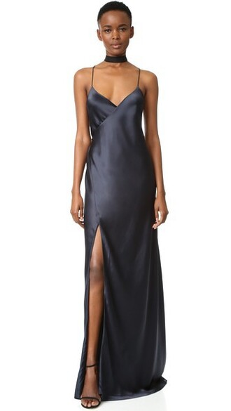 gown strappy dress