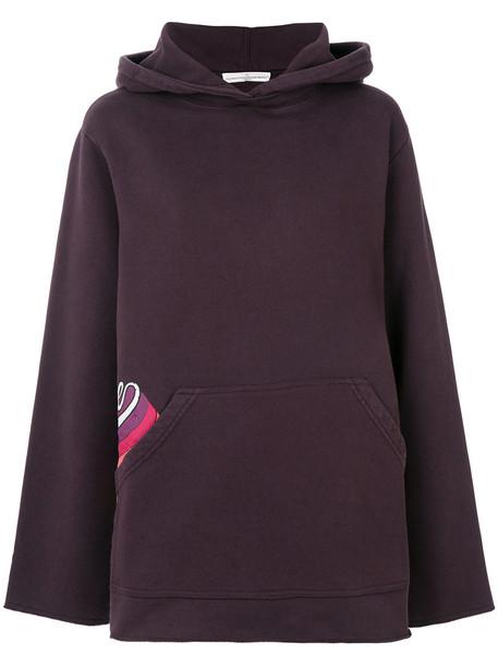 GOLDEN GOOSE DELUXE BRAND hoodie women cotton red sweater