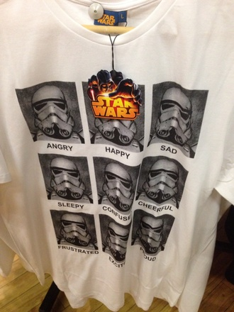 t-shirt star wars top humor shirts