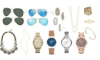 lilly's style blogger aviator sunglasses watch