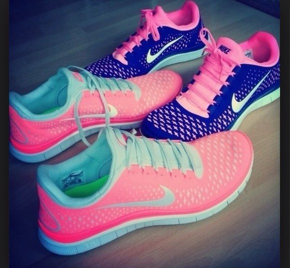 shoes nike nike running shoes nike sneakers pink tumblr tumblr post tumblr shoes