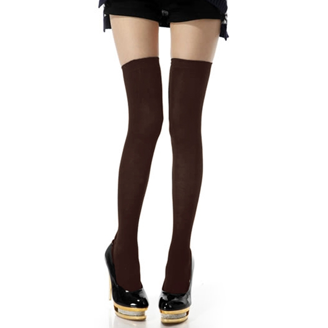 Aliexpress.com : Buy 2014 New Hot Women Charm Stylish Over The Knee Cotton Leg Thigh High Casual Stockings Four Colors from Reliable stockings compression suppliers on Shenzhen Gache Trading Limited