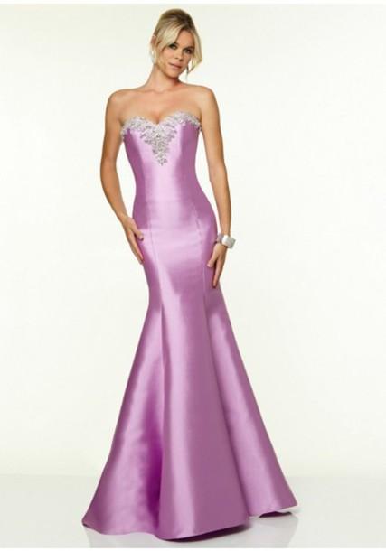 dress trumpet mermaid prom evening dress mermaid style