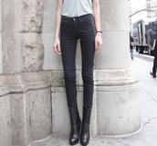 shoes,high heeled boots,high heels,high waisted jeans