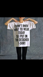 shirt,white shirt,designer,t-shirt,casual,top,leggings,black and white,style,white t-shirt,black t-shirt,black shirt,writing,lovely,absolutely,cream,basic,classy