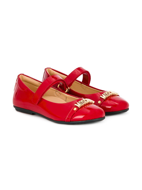 Moschino Kids shoes leather red