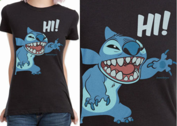 t-shirt lelo & stitch
