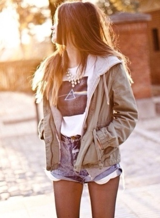 coat army green green jacket tumblr clothes fleece army green jacket jackets brown jacket hipster shorts military green hipster jacket hoodie jacket hoodie cute jacket vintage vintage jacket vintage style jacket tumblr jacket tumblr tumblr outfit green jacket