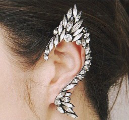 Ice queen earring clip · fashion struck · online store powered by storenvy