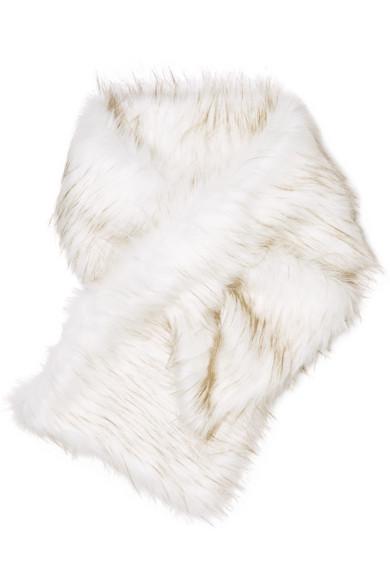A PERDIFIATO - Arabella faux fur wrap