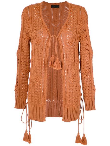 Nk - knit cardigan - women - Cotton/Acrylic - P, Cotton/Acrylic