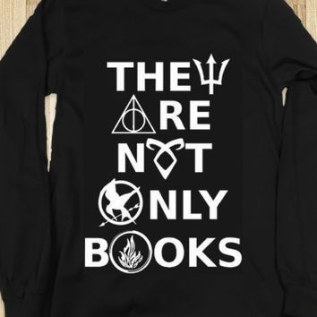skreened's save of They Are Not Only Books (Harry Potter, Hunger Games, Percy Jackson, Divergent, Mortal Instruments, Fandom) on Wanelo