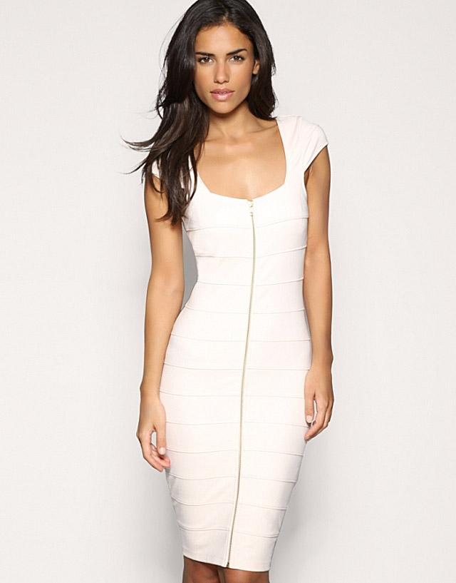 Damen Bandage Kleid Mini Abendkleid Ballkleid Hochzeit Kleider GR S M L XL XXL | eBay