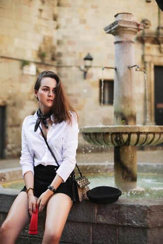 style scrapbook blogger shirt shorts shoes bag