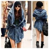 jacket,denim jacket,oversized jacket,hooded coat,summer,fashion,style,trendy,blue denim,coat,hoodie,cardigan,fall outfits,streetwear,girly,cute,kawaii,clothes