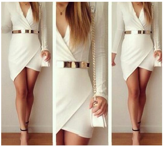 Hot cute v sexy dress no belt