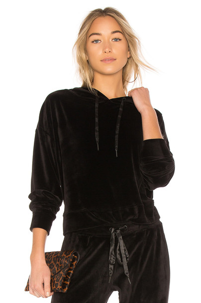 Sanctuary hoodie black sweater