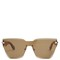 Rimless acetate sunglasses