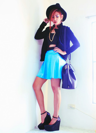born to bother you jewels jacket bag skirt shoes