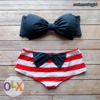 Nautical Bow Boyleg Swimsuit Swimwear - Brand New For Sale Philippines	- 41772058
