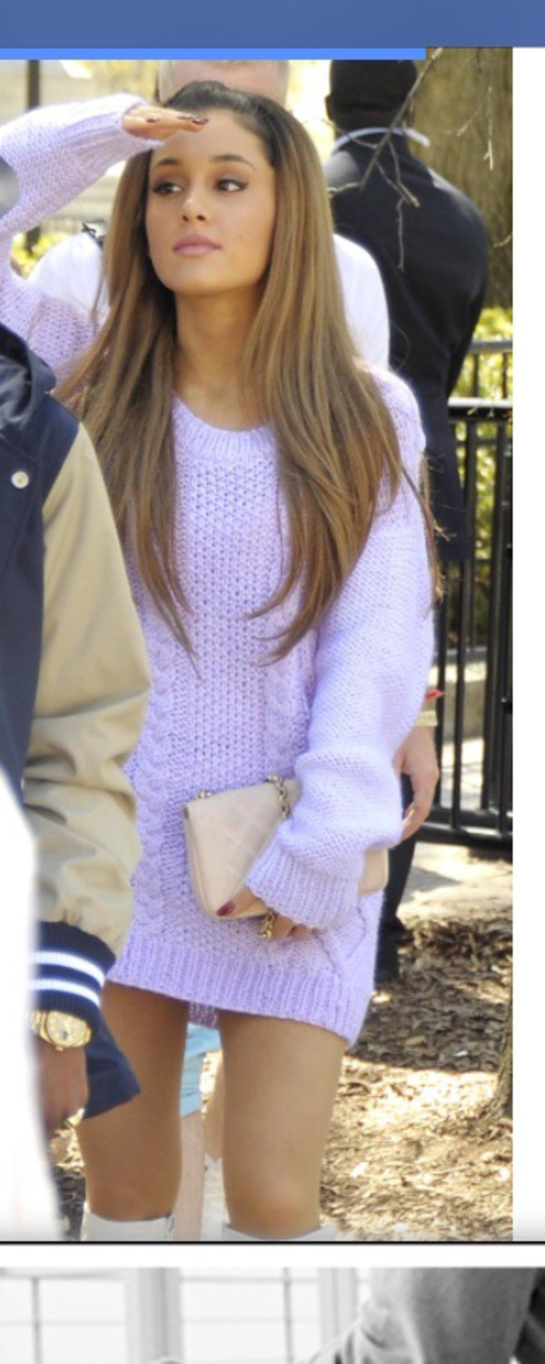 ariana grande sweater