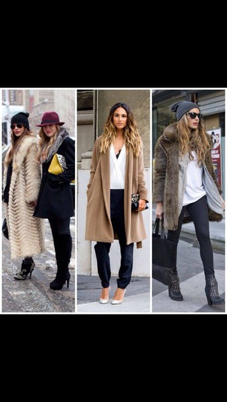 faux fur fur coat