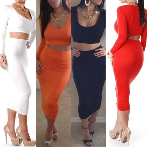 Bodycon High Waisted Skirt