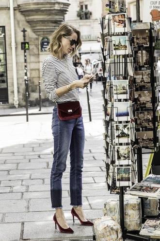 le fashion image blogger sunglasses top jeans