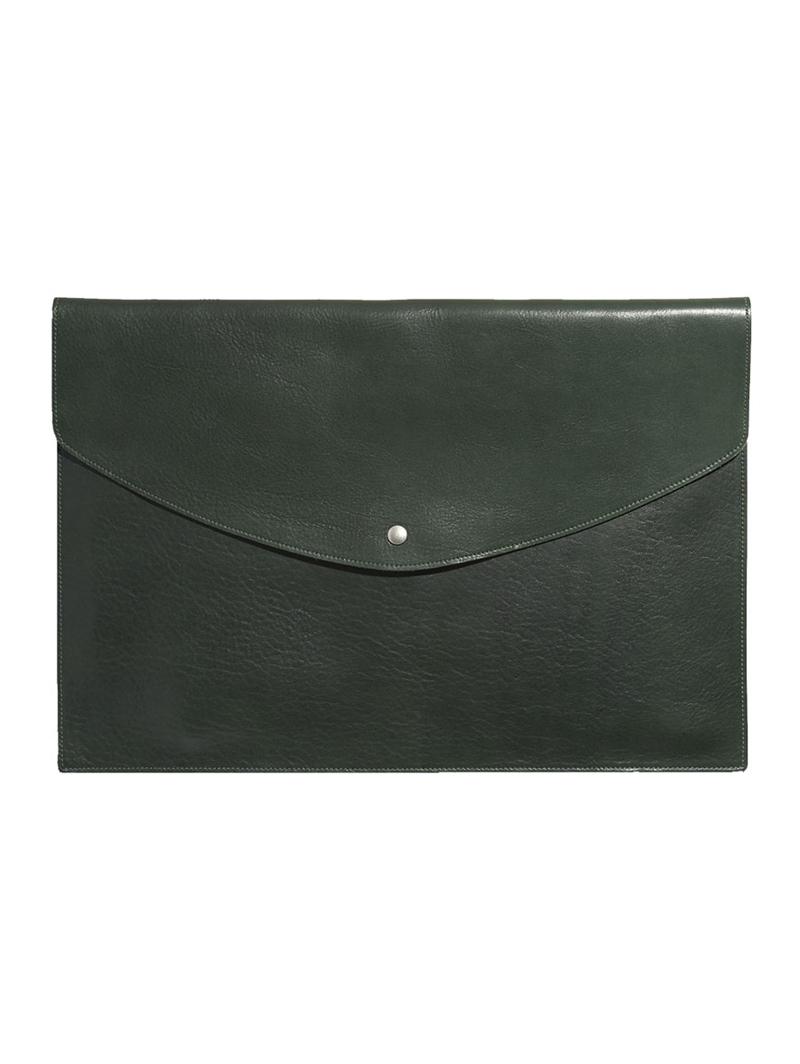 Leather 15 in Macbook Envelope
