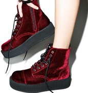 shoes,burgundy,tumblr,boots,platform lace up boots