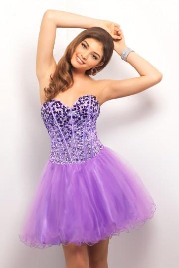 Amazing Tulle Sweetheart Gradient Beading A-line Formal Dress [PPCD2067]- AU$           171.83 - DressesMallAU.com