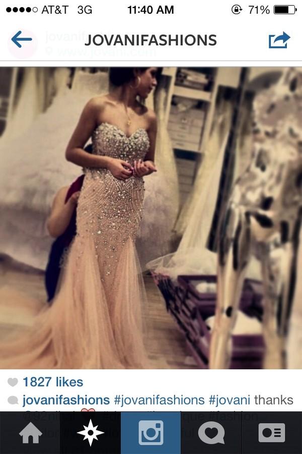 dress prom dress mermaid prom dress jovani