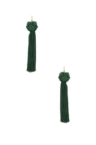 tassel green jewels