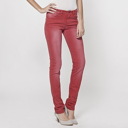 Jean slim femme IKKS (BD29021) | Vêtement Femme Ete 14