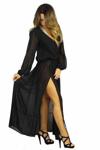 swimwear free vibrationz cover up black cover up black maxi dress summer coachella festival swimsuit cover up cover up dress pretty pool party outfit pool party sheer black sheer dress
