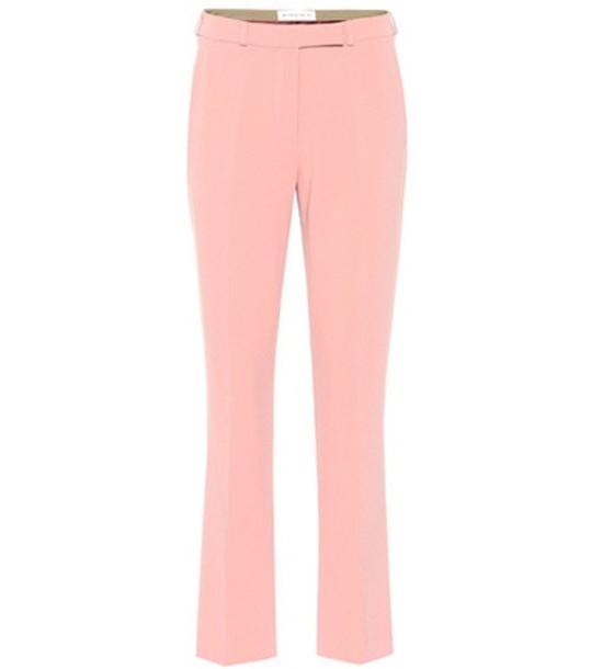 Etro Crêpe pants in pink