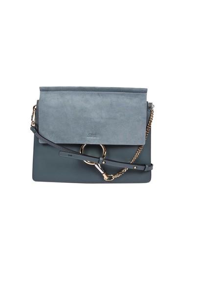 Chloe bag shoulder bag blue