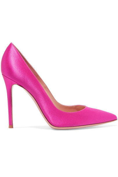 Gianvito Rossi pumps satin shoes