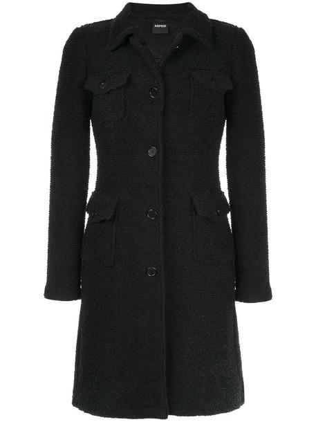 ASPESI cardigan cardigan women black wool sweater