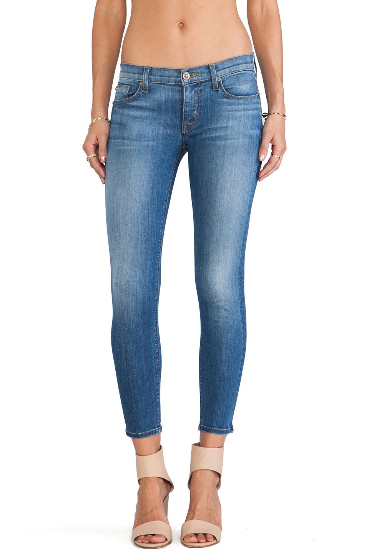Hudson Jeans Krista Skinny Crop in Worship Me | REVOLVE