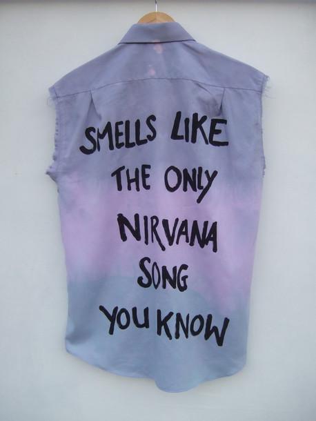 shirt pastel ombre grunge