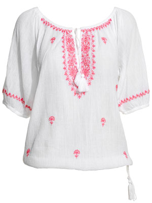 India long sleeve top