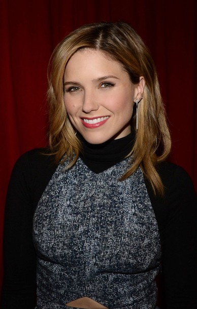 sophia bush earrings grey dress dress