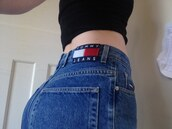 jeans,vintage,tommy hilfiger,90s style,cute,tumblr,aesthetic